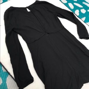 Talula size 2 black keyhole dress